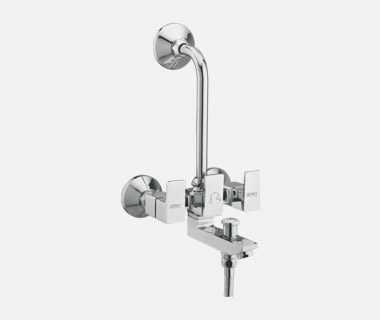 3 i n 1 Wall Mixer Telephonic with Bend with inbuilt 20mm Check Valve