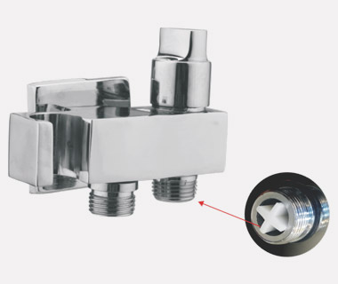 2 in 1 HF Angle Valve for Health Faucet