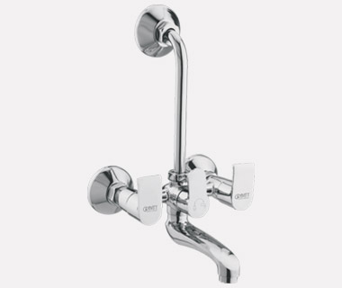 Wall Mixer Telephonic with Bend with inbuilt 20mm Check Valve