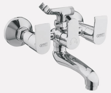 Wall Mixer Telephonic with Crutch with inbuilt 20mm Check Valve