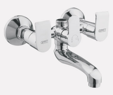 Wall Mixer Telephonic without Crutch with inbuilt 20mm Check Valve