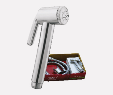 Health Faucet ABS (GR112) Complete Set with Shower Tube (1 mtr) & ABS Hook