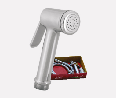 Health Faucet Mahindra Complete Set with Shower Tube (1 mtr) & ABS Hook